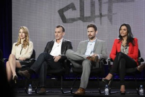 """The cast of """"Cult"""" at TCA."""