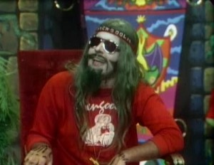 Jerry G. Bishop as the original Svengoolie.