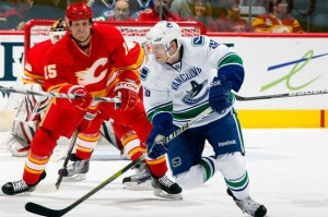 All rights to Calgary Flames and Vancouver Canucks games in Canada are now held by Rogers.