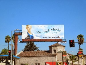 """A billboard for """"The Sound Of Music"""" in Los Angeles."""