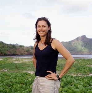"Tammy Leitner in her ""Survivor"" days."