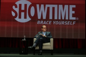 Showtime's David Nevins at the exec session.