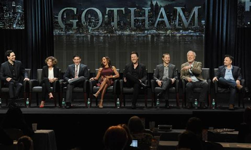 "The cast of Fox's upcoming drama ""Gotham"" (Kansascitystar.com)"