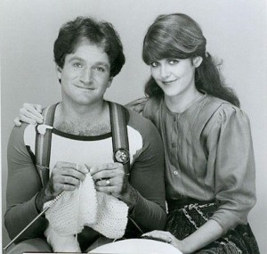 Pam Dawber, Robin Williams 2