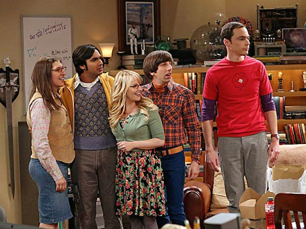 The Big Bang Theory moves back to Mondays and still dominates. (CBS/Warner Bros.)