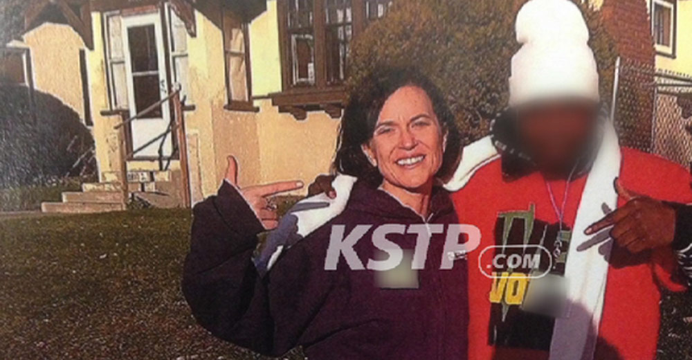 "Minneapolis mayor Betsy Hodges participating in ""pointergate"" (KSTP.com)"