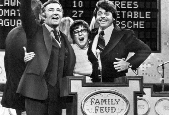 """""""Family Feud"""" with original host Richard Dawson."""