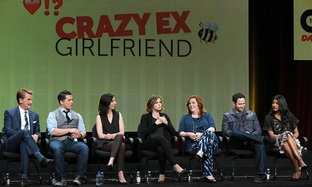 "CW's ""Crazy Ex-Girlfriend"" at TCA"