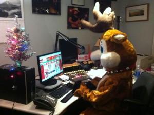 Meet WLIT's newest DJ. He's a seasonal worker. (Credit: Chicago Business Journal)