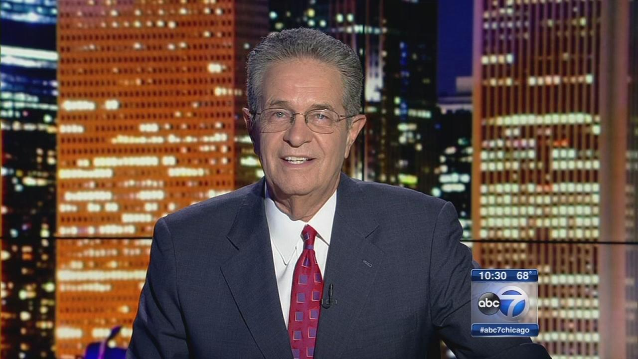Ron Magers signs off. (ABC 7)