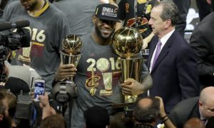 LeBron James, a champion in his hometown at last