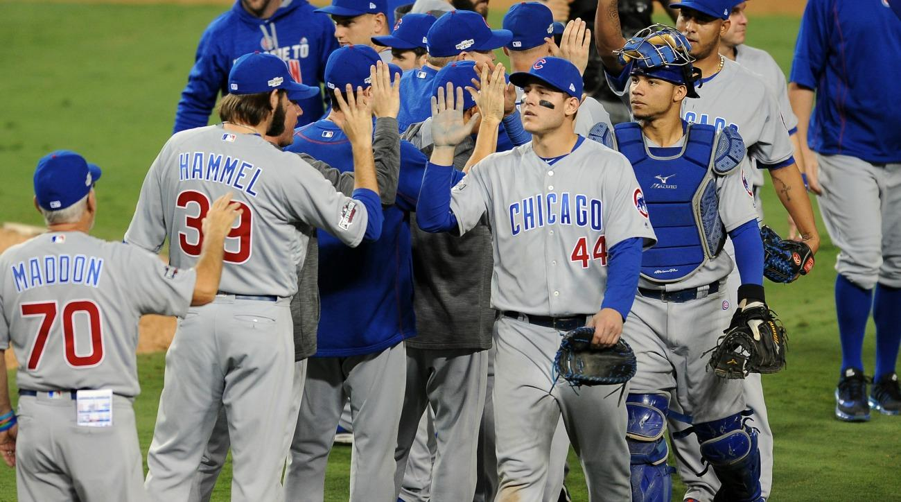 The Cubs beat the Dodgers in Game 5 of the NLCS (SI.com)