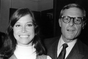 Grant Tinker with then-wife mary Tyler moore. They formed MTM Enterprises in 1969. (Emmys.com)